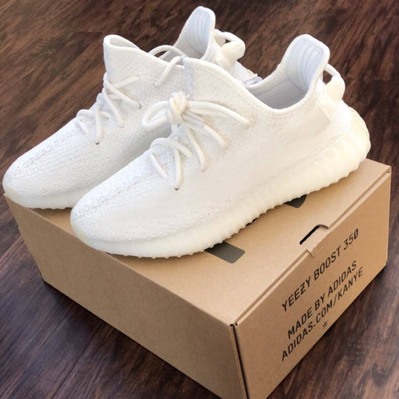 Adidas Yeezy Boost 350 V2 Triple WhiteCream White Running